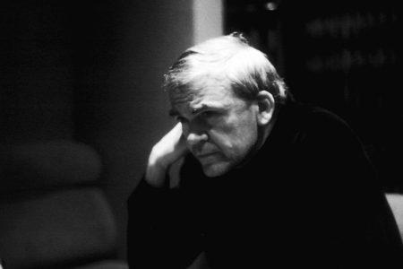 Milan Kundera. Fot. Elisa Cabot / Flickr-CC