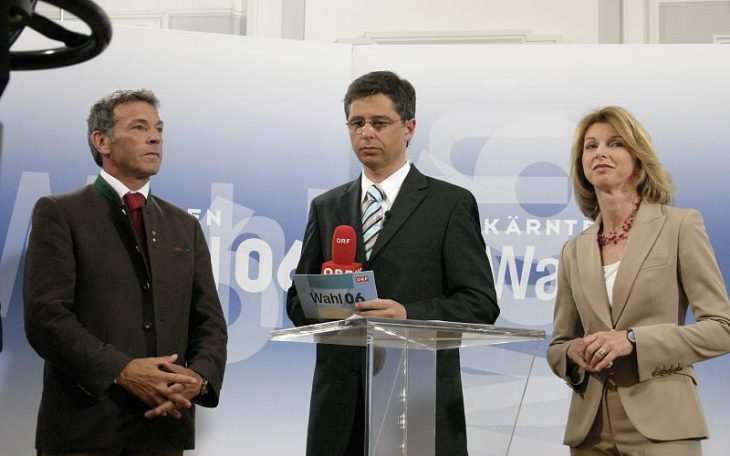 Liderzy FPO. Z lewej Jorg Haider. Fot pixel0908 / Flickr-CC