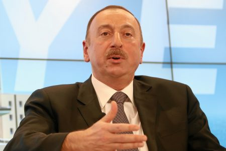 Ilham Alijew, prezydent Azerbejdżanu. Fot. World Economic Forum / Flickr-CC