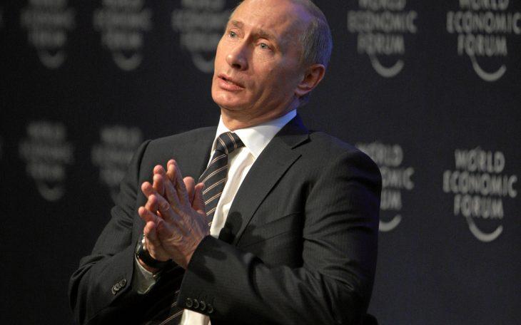 Władimir Putin. Fot: World Economic Forum / Flickr-CC