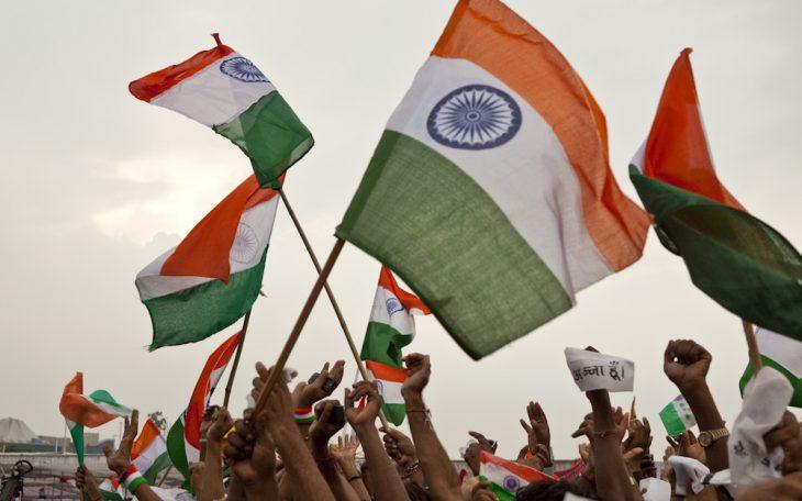 Demonstracja w Indiach. Fot. India Kangaroo / Flickr-CC