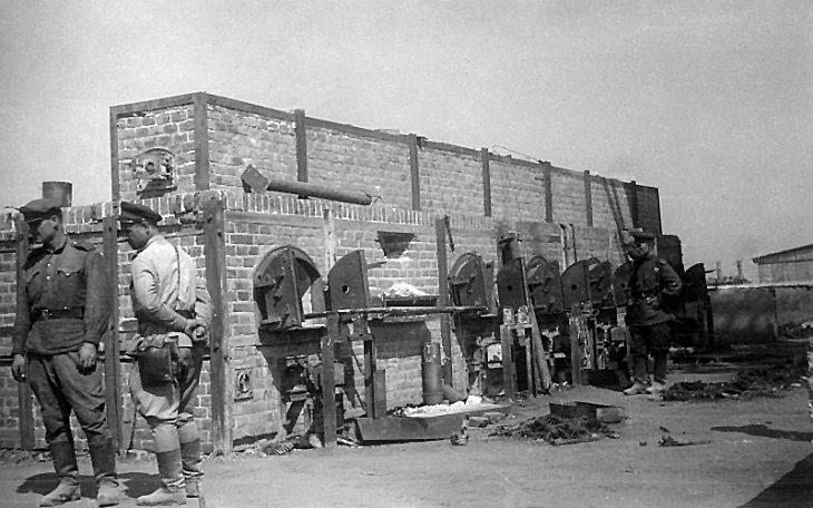 Obóz w Majdanku. Fot. Deutsche Fotothek/Wikimedia-CC