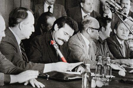 Lech Wałęsa, fot. tjabeljan / Flickr - CC