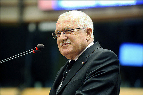 Vaclav Klaus. Fot. European Parliament / Flickr - CC