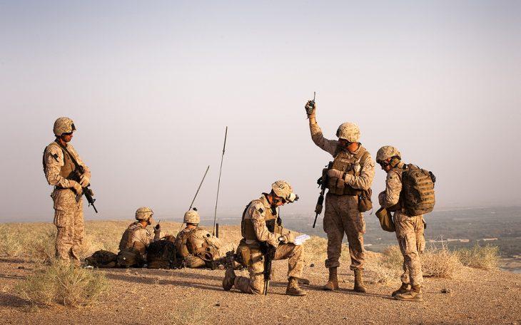 Marines w Afganistanie. Fot: ResoluteSupportMedia / Flickr-CC