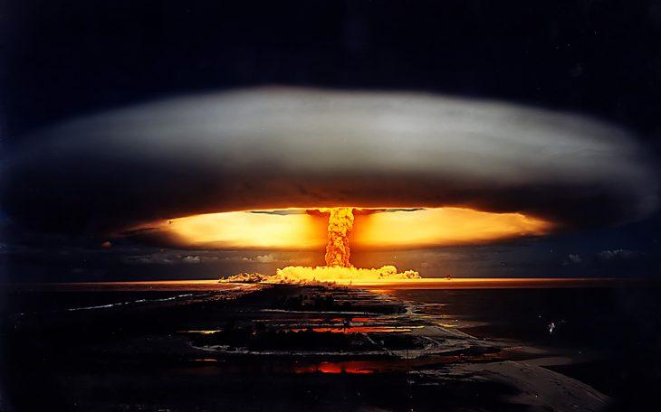 Wybuch bomby wodorowej. Pierre J. Flickr/ cc