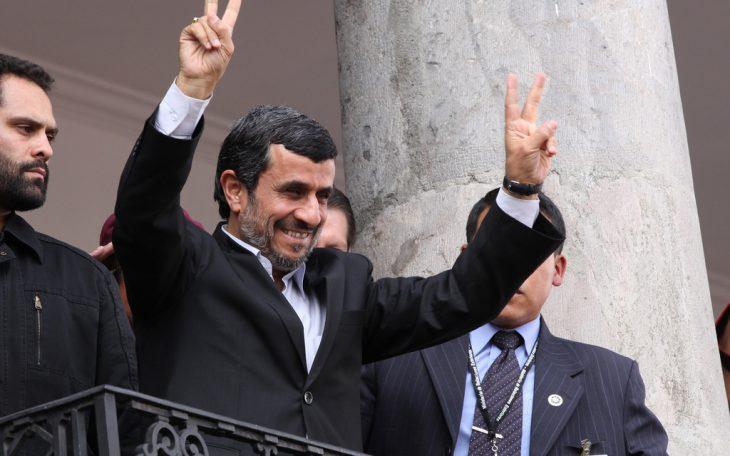 Prezydent Iranu Mahmud Ahmadineżad. Fot. http://www.presidencia.gob.ec / Flickr-CC