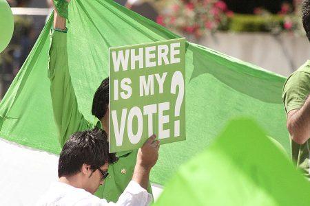 Zielona Rewolucja w Iranie. Fot. Parsa Shabani / Flickr-CC