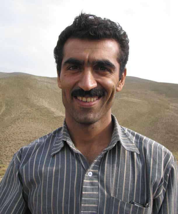 Irańczyk Mehdi z Kom (fot. W. Ganczarek)