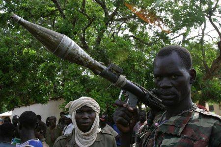 Rebelianci z Republiki Środkowoafrykańskiej (fot. Flickr: hdptcar / car.humanitarianresponse.info - CC)