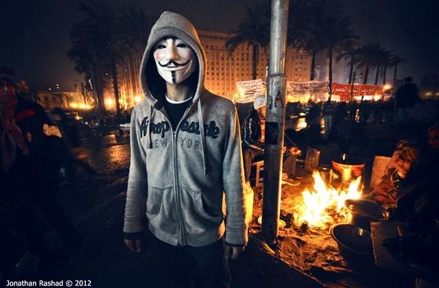 Protestujący na placu Tahrir w Kairze, Egipt. (fot.  Jonathan Rashad / Flickr-CC)