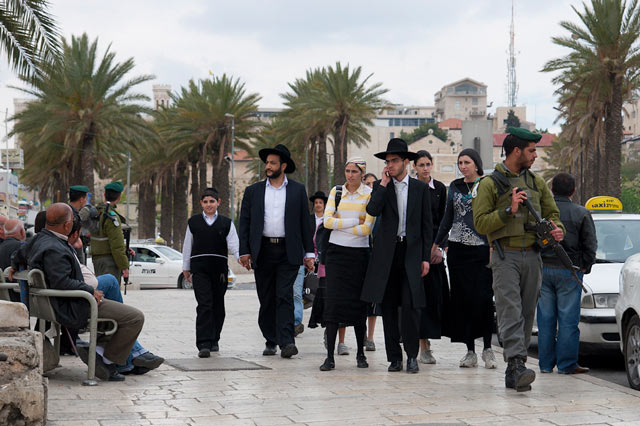 Żydowscy ortodoksi nie muszą odbywać służby wojskowej (fot. Libertinus / Flickr-CC)