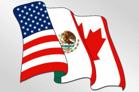 NAFTA to porozumienie USA, Meksyku i Kanady (ilustracja: AlexCovarrubias/Wikimedia Commons - CC)