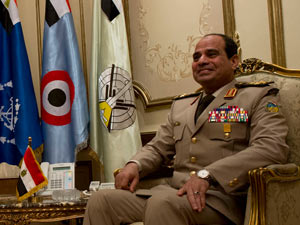 Marszałek Abd al-Fattah as-Sisi (fot. Erin A. Kirk-Cuomo / US Secretary of Defense / Flickr - CC)