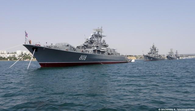 Okręty Floty Czarnomorskiej (fot. A. Brichevsky / flot.sevastopol.info)