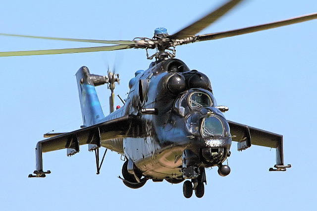 Mi-24 (fot. Airwolfhound / Flickr / CC))