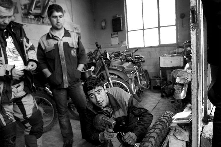 Iran - praca