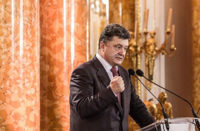 Petro Poroszenko (Fot. M. Kosiński / MSZ)
