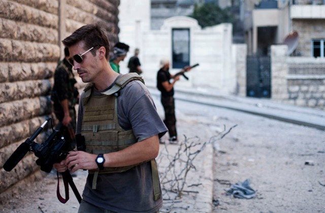 James Foley, Syria, 2012 r. Fot. Manu Brabo.