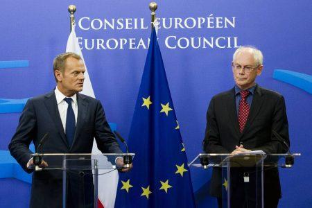 Donald Tusk i Herman van Rompuy. Fot. President of the European Council/Flickr-CC