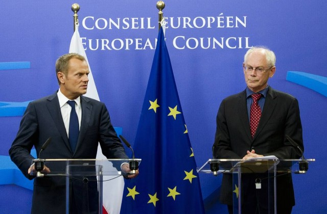 Donald Tusk i Herman van Rompuy. Fot. President of the European Council/Flickr-CC