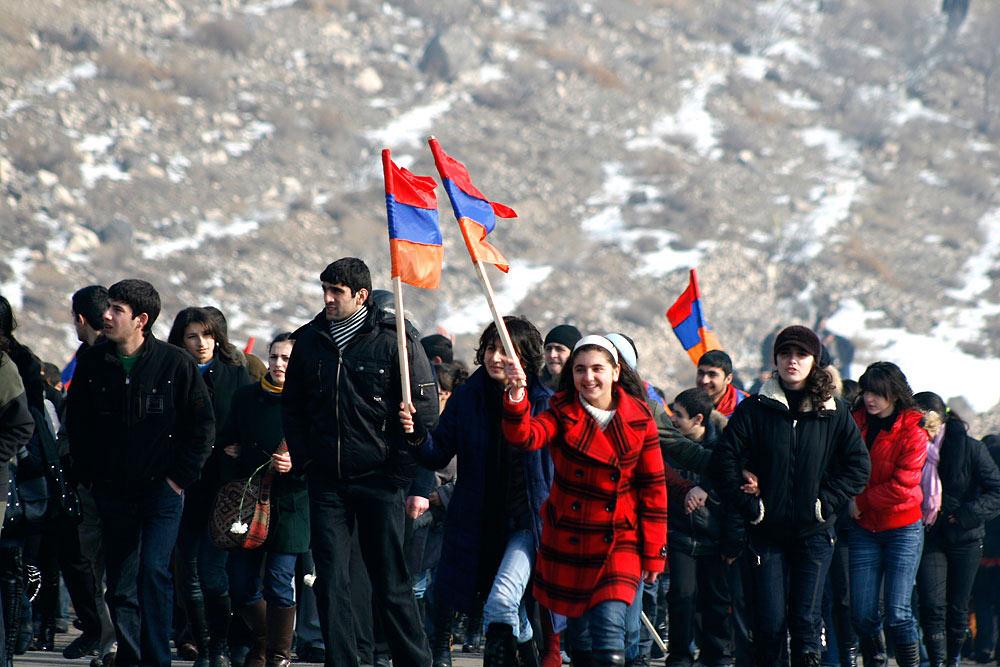 Obchody Święta Armii w Górskim Karabachu (fot. Sedrak Mkrtchyan / Flickr - CC)