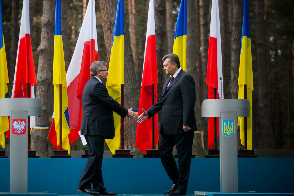 Wizyta prezydenta RP na Ukrainie, 2012 r. Fot. Lukasz Kaminski / Prezydent.pl