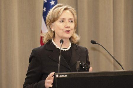 Hillary Clinton jako Sekretarz Stanu USA (Źródło: Flickr/US Embassy New Zealand)