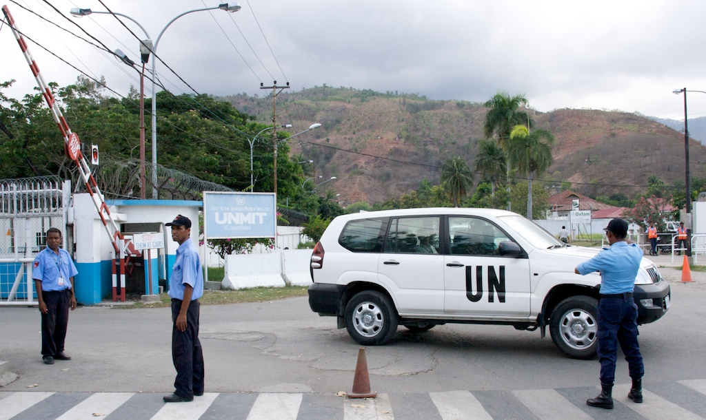 Siły ONZ w Dili, Timor-Leste (fot. Marek Lenarcik)