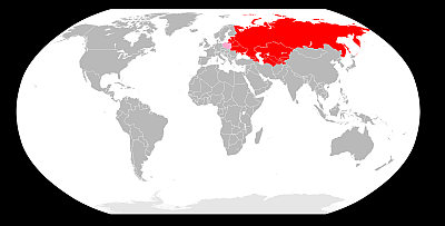 Kraje, w których można ubiegać się o Kartę Polaka. (źródło: Wikipedia) KLIKNJ ABY POWIĘKSZYĆ
