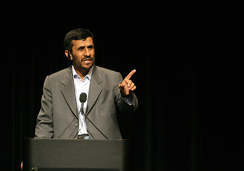 Mahmud Ahmadineżad, prezydent Iranu, Zdjęcie: Daniella Zalcman/Flickr
