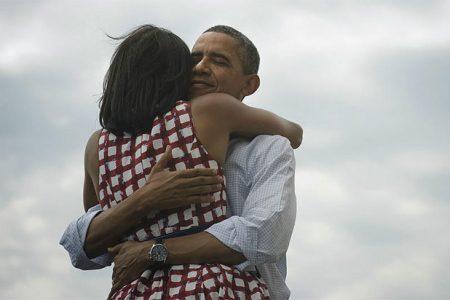 Barack Obama z żoną Michelle (Zdjęcie: twitter.com/BarackObama)
