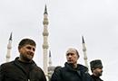 Ramzan Kadyrow i Władimir Putin w Groznym