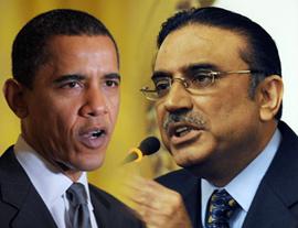 Barack Obama i Asif Ali Zardari (Źródło: radio.gov.pk)
