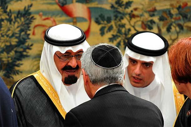 Król Arabii Saudyjskiej Abdullah (po lewej). Zdjęcie: Ammar Abd Rabbo/Flickr