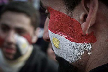 Protestanci na placu Tahrir w Kairze (AhmadHammoud/Flickr)