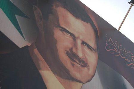 Syryjski billboard przedstawiający Baszara al-Assada (Flickr: tgraham-cc)