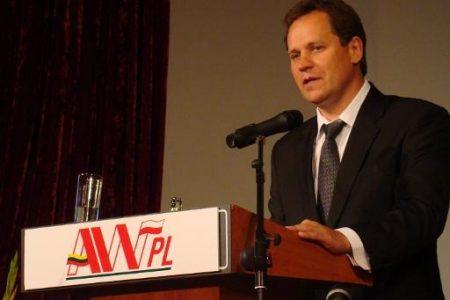 Waldemar Tomaszewski, lider Akcji Wyborczej Polaków na Litwie (fot. Salon24.pl)