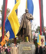 Pomnik Stepana Bandery we Lwowie