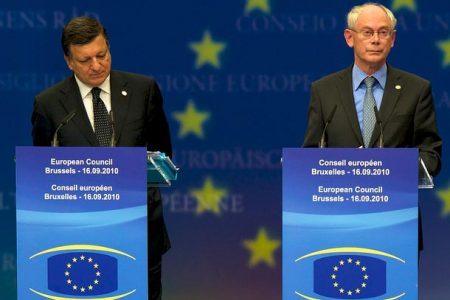 José Manuel Barroso i Herman Van Rompuy (Flickr: President of the European Council)