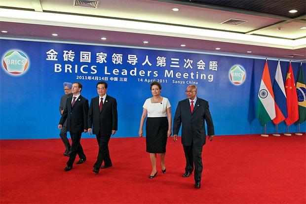 Przywódcy państw BRICS (Flickr: Blog do Planalto)