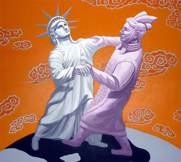 USA i Chiny. Źródło: Flickr - xiaming