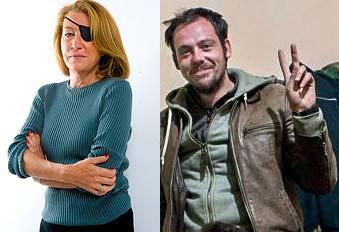 Marie Colvin i Remi Ochlik (Flickr)