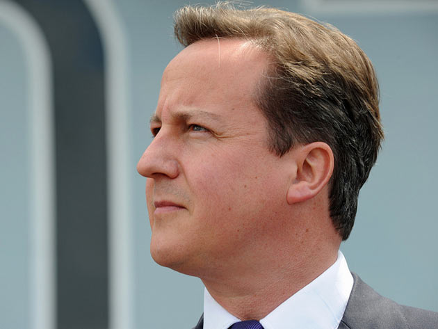 David Cameron, premier Wielkiej Brytanii (Flickr:  The Prime Minister's Office)