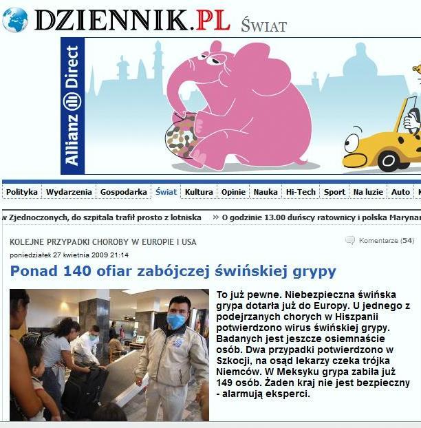 Artykuł z portalu Dziennik.pl (za: www.doorg.info)