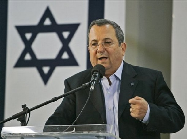 Ehud Barak, Minister Obrony Izraela (AP Photo/Ariel Schalit)