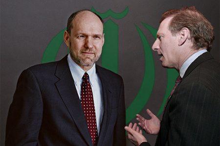Debatę o Iranie rozpoczynają na noweo Stephen Walt (po lewej) i Richard N. Haass (po prawej)