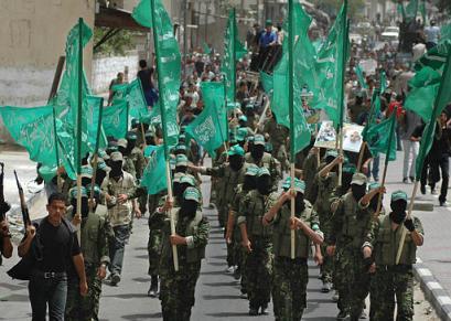 Zwolennicy Hamasu