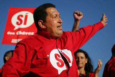 Hugo Chavez (fot. ¡Que comunismo! - Flickr - CC)