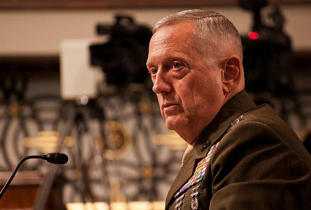 Gen. James Mattis (Fot. lukexmartin, Flickr)